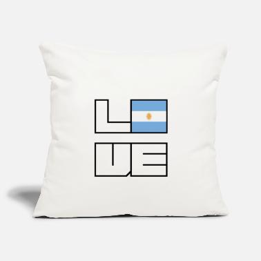 Love home roots Roots Argentina - Pillowcase 17,3'' x 17,3'' (45 x 45 cm)