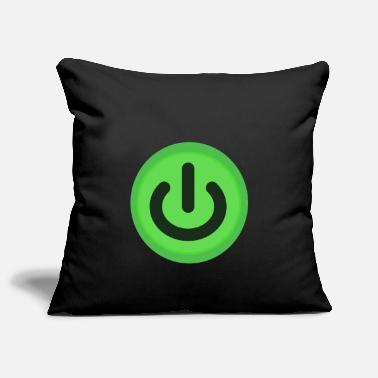 Power On / Off button Power Button Switch - Pillowcase 17,3'' x 17,3'' (45 x 45 cm)