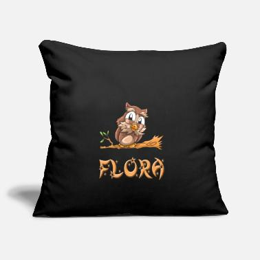 Flora Owl flora - Pillowcase 17,3'' x 17,3'' (45 x 45 cm)