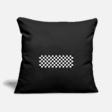 Checkerboard checkerboard - Pillowcase 17,3'' x 17,3'' (45 x 45 cm)