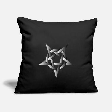Pentacle Pentacle Pentacle Metal Music Shirt - Pillowcase 17,3'' x 17,3'' (45 x 45 cm)