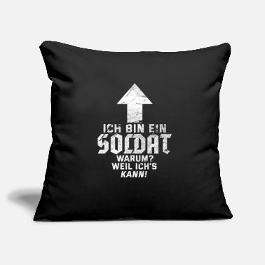 Soldier military soldier gift - Pillowcase 17,3'' x 17,3'' (45 x 45 cm)