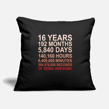 16th Birthday 16th birthday 2003 - Pillowcase 17,3'' x 17,3'' (45 x 45 cm)