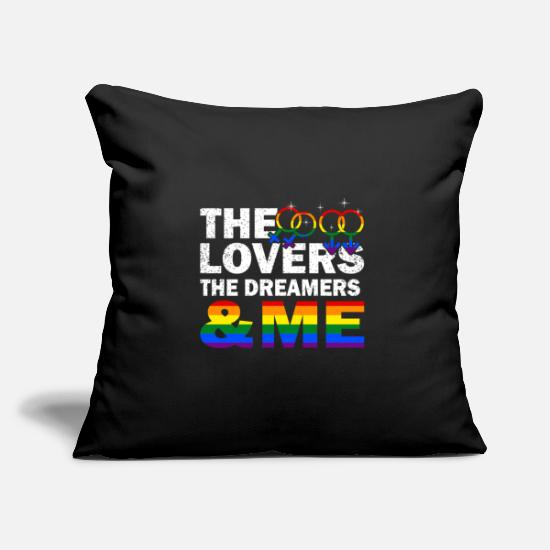 Marriage Pillow Cases - lgbt - Pillowcase 17,3'' x 17,3'' (45 x 45 cm) black