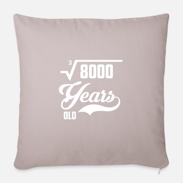 20th 20th birthday - Pillowcase 17,3'' x 17,3'' (45 x 45 cm)