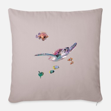 Sealife Sealife 2 - Pillowcase 17,3'' x 17,3'' (45 x 45 cm)