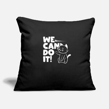 Humorous Sayings Cats humor saying - Pillowcase 17,3'' x 17,3'' (45 x 45 cm)