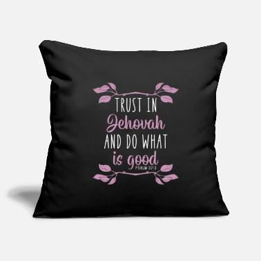 Religion Jehovah's Witness God JHWH Christ Bible gift - Pillowcase 17,3'' x 17,3'' (45 x 45 cm)