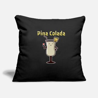 Drink Pina Colada Tasty Drink Cocktail Recipe - Pillowcase 17,3'' x 17,3'' (45 x 45 cm)