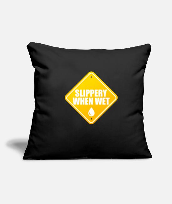 Meme Pillow Cases - Sexy Halloween Costume Slutty Party Joke Gifts - Pillowcase 17,3'' x 17,3'' (45 x 45 cm) black