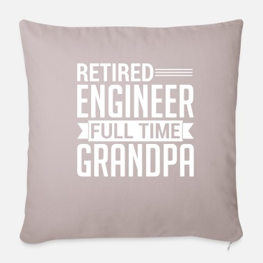 Grandpa grandfather engineer pensioner - Pillowcase 17,3'' x 17,3'' (45 x 45 cm)