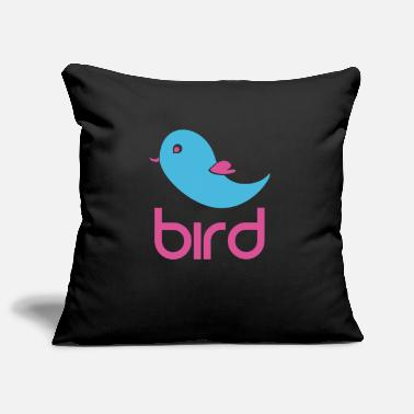 Bird BIRD = BIRD - Pillowcase 17,3'' x 17,3'' (45 x 45 cm)