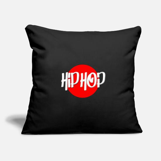 Rap Pillow Cases - Hip Hop Rap Grafitti - Pillowcase 17,3'' x 17,3'' (45 x 45 cm) black