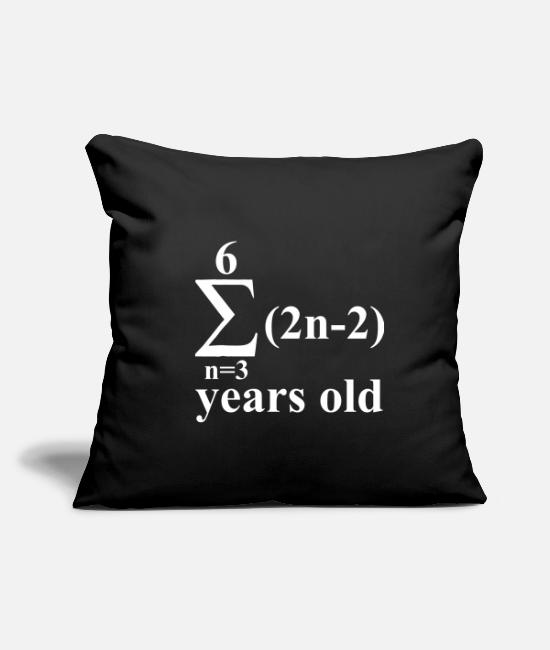 Professor Pillow Cases - Complex math formula - Pillowcase 17,3'' x 17,3'' (45 x 45 cm) black
