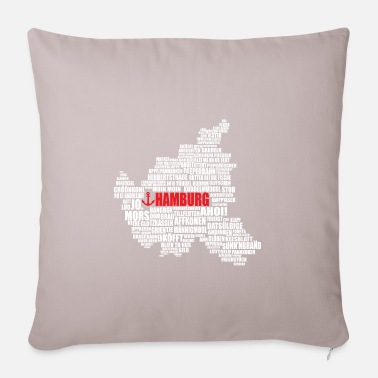 Low German Hamburg Low German Shirt - Pillowcase 17,3'' x 17,3'' (45 x 45 cm)