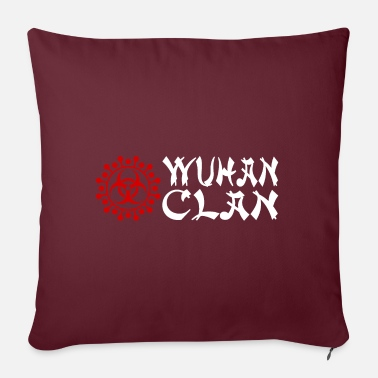 Clan Wuhan clan - Pillowcase 17,3'' x 17,3'' (45 x 45 cm)