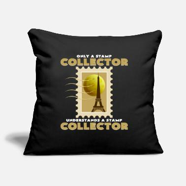 Stamp Collecting Stamp collection - Pillowcase 17,3'' x 17,3'' (45 x 45 cm)