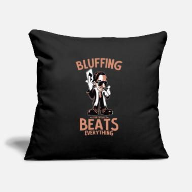 Bluff bluff - Pillowcase 17,3'' x 17,3'' (45 x 45 cm)
