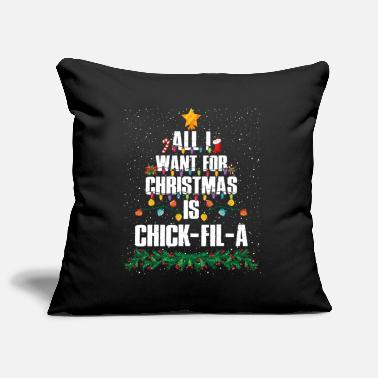 The Magnet All I Want For Christmas Is Chick-fil-a Funny - Pillowcase 17,3'' x 17,3'' (45 x 45 cm)