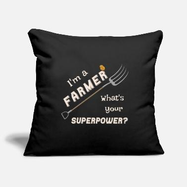 Manure Fork Farmer & Farmer Superpower hay fork - Pillowcase 17,3'' x 17,3'' (45 x 45 cm)