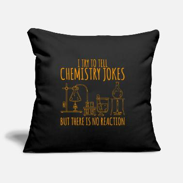Chemistry Chemistry flask laboratory saying gift - Pillowcase 17,3'' x 17,3'' (45 x 45 cm)
