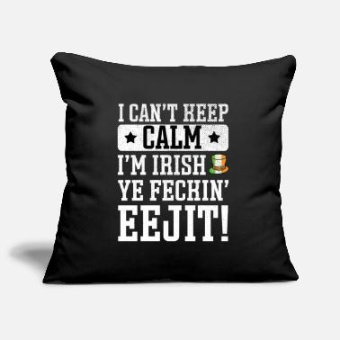 Feckin St Patrick's Day Irish Ireland Drunk Beer Paddy - Pillowcase 17,3'' x 17,3'' (45 x 45 cm)