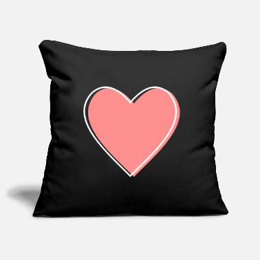 Life Force Heart love life force icon gift - Pillowcase 17,3'' x 17,3'' (45 x 45 cm)