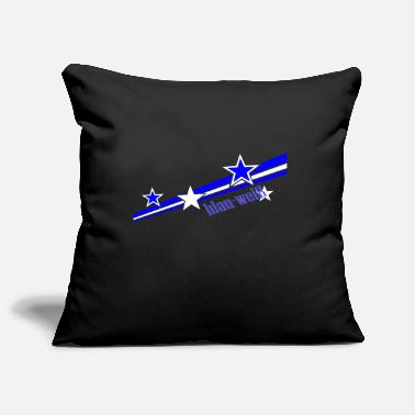 Blue White blue White - Pillowcase 17,3'' x 17,3'' (45 x 45 cm)