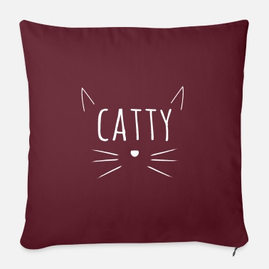 Catty Cute Catty Tees & Accessories - Pillowcase 17,3'' x 17,3'' (45 x 45 cm)