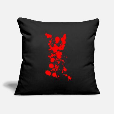 Bloodstain bloodstains - Pillowcase 17,3'' x 17,3'' (45 x 45 cm)