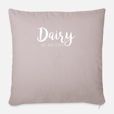 Dairy DAIRY IS SCARY - Pillowcase 17,3'' x 17,3'' (45 x 45 cm)
