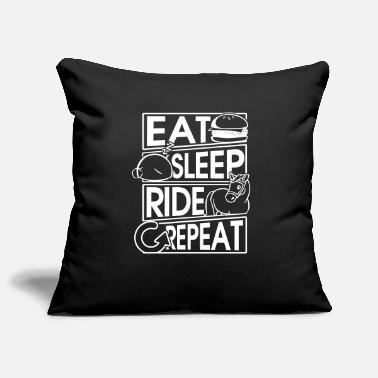 Nonno Eat Sleep Ride Repeat Horse Gift Gift - Copricuscino per divano, 44 x 44 cm
