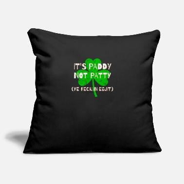 Eejit Feckin Eejit Distressed for St Paddy's Day - Pillowcase 17,3'' x 17,3'' (45 x 45 cm)