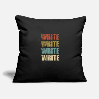Writing Write - Pillowcase 17,3'' x 17,3'' (45 x 45 cm)
