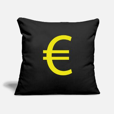 Euro Sign €, Euro, Euro sign - Pillowcase 17,3'' x 17,3'' (45 x 45 cm)