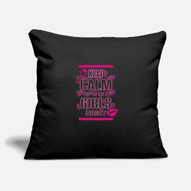 Hen Party Quotes Hen Party Quote Keep Calm Logo - Pillowcase 17,3'' x 17,3'' (45 x 45 cm)