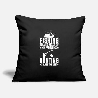 Carp Fishing solves most of my problems - Pillowcase 17,3'' x 17,3'' (45 x 45 cm)