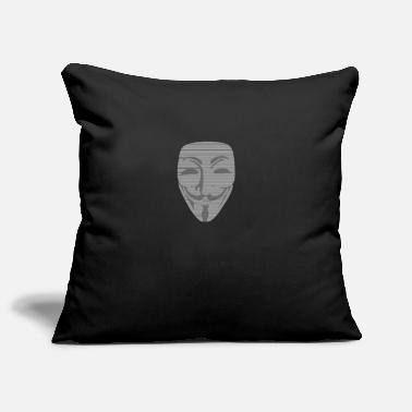 Wikileaks Pirate anonyme Wikileaks Vandetta anonymus - Housse de coussin