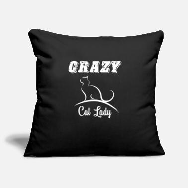 Crazy crazy cat lady maine coon gift kitten pussycat - Kissenhülle