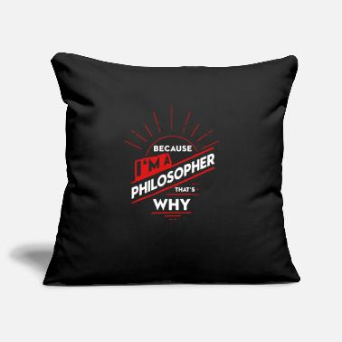 Philosopher philosopher - Pillowcase 17,3'' x 17,3'' (45 x 45 cm)