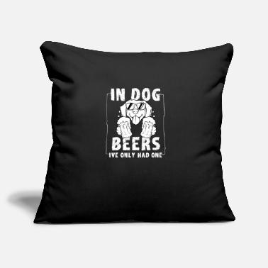 Bar-pub Dogs Dog Beer Bar Pub Pub Pils Lager Ale - Pillowcase 17,3'' x 17,3'' (45 x 45 cm)
