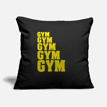 Gym Gym Gym Gym Gym Gym Fitess Gym weights - Pillowcase 17,3'' x 17,3'' (45 x 45 cm)