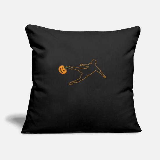 Birthday Pillow Cases - Soccer - Pillowcase 17,3'' x 17,3'' (45 x 45 cm) black