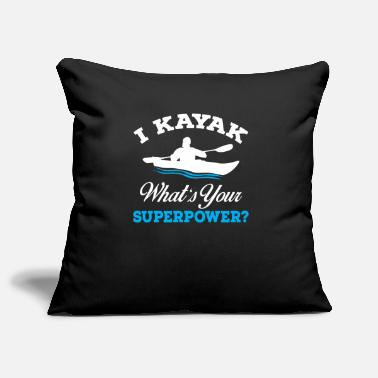 Sporty I am kayaking - Pillowcase 17,3'' x 17,3'' (45 x 45 cm)