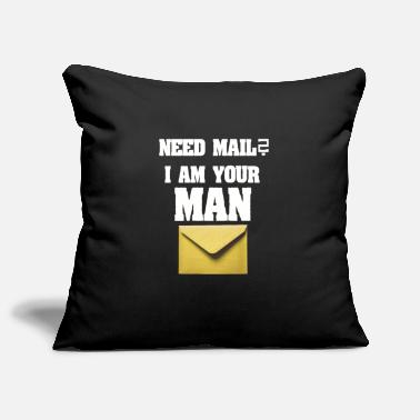 Composite Delivery Need mail? I am your MAN. post man - Pillowcase 17,3'' x 17,3'' (45 x 45 cm)
