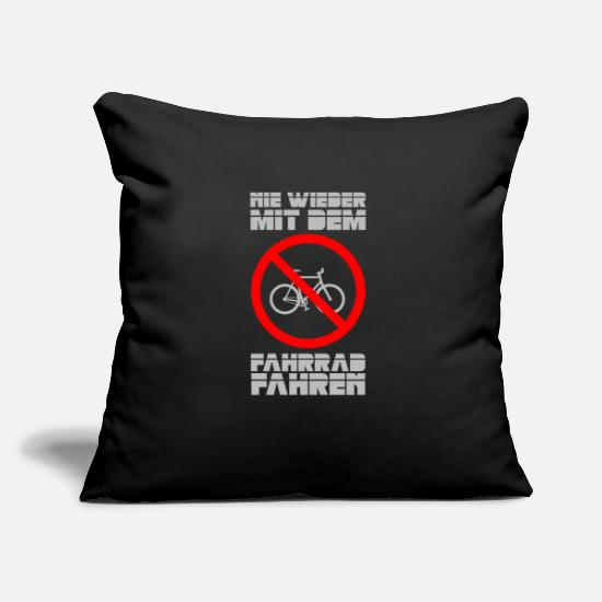Gift Idea Pillow Cases - Driver License Never Again Passed A Bike Gift - Pillowcase 17,3'' x 17,3'' (45 x 45 cm) black