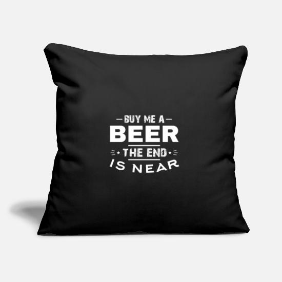 Addio Al Celibato Copricuscini - Acquista birra JGA World Sunset Funny Sayings - Copricuscino nero