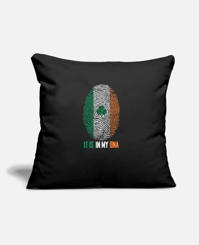 Travel Pillow Cases - Ireland - Pillowcase 17,3'' x 17,3'' (45 x 45 cm) black