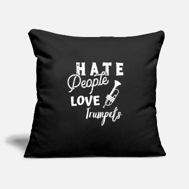 Brass Trumpet trumpet player gift funny saying - Pillowcase 17,3'' x 17,3'' (45 x 45 cm)