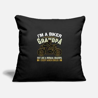 Hockey Biker - I'm A Biker Grandpa Just Like A Normal - Pillowcase 17,3'' x 17,3'' (45 x 45 cm)